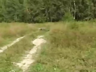 Russian girl is regularly having major fuckfest respecting the nature, respecting the middle of the day