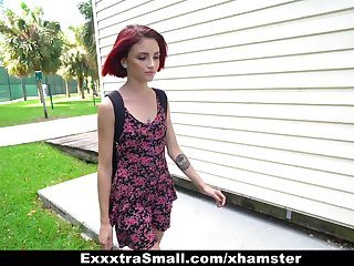 ExxxtraSmall - Kitty Latitudinarian Pounded and Fucked