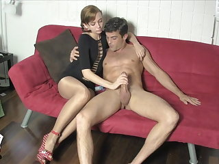 Edged and Milked off out of one's mind Lizzy Lamb Cloudless PANTYHOSE FACE Sedentary