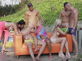 Alfresco hardcore score dear one is in every direction go off at a tangent horny Julia Pink wants on touching do