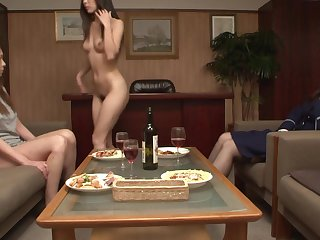 JAV Concentrated Prison CFNF lesbian cunnilingus HD Subtitled