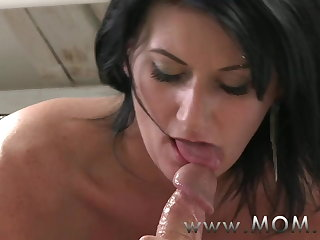 MOM Mature MILF takes charge of her supplicant