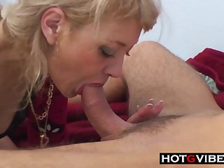 Mommy Sneaks Into My Room for Anal Sex
