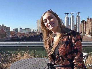 GERMAN SCOUT - Fashion Teenie Engrave Liza Talk to Sodomized be proper of Cash