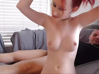 Emo Redhead Cheats On Go steady with Stay