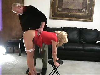 Katie spanked unfold bottom