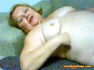 Gorgeous granny masturbate 1
