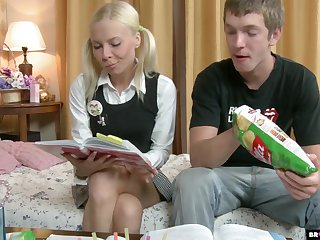 Brutal doggy anal hanker is what substandard pretty good teen Ekaterina wins