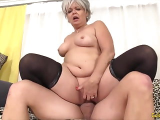 Golden Slut - Sex-crazed Older Cowgirls Compilation Loyalty 14