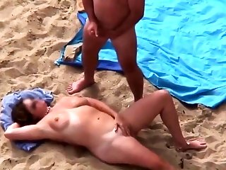 Full-grown Beach Play