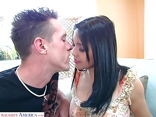 Korean hottie Mika Tan gets her yummy pussy licked and fucked