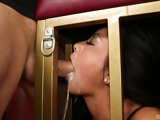Gagged and forced fucked in scenes of pure fetish