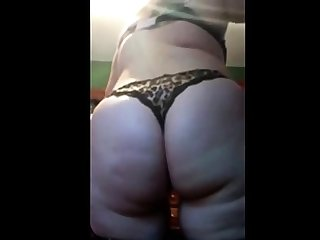 Flaunting her PAWG ass