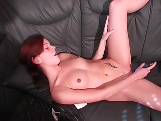 Hot Main Fingers Her Clit