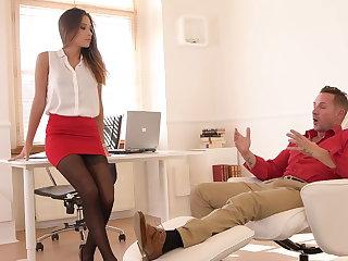 Pornographic fuck course of treatment